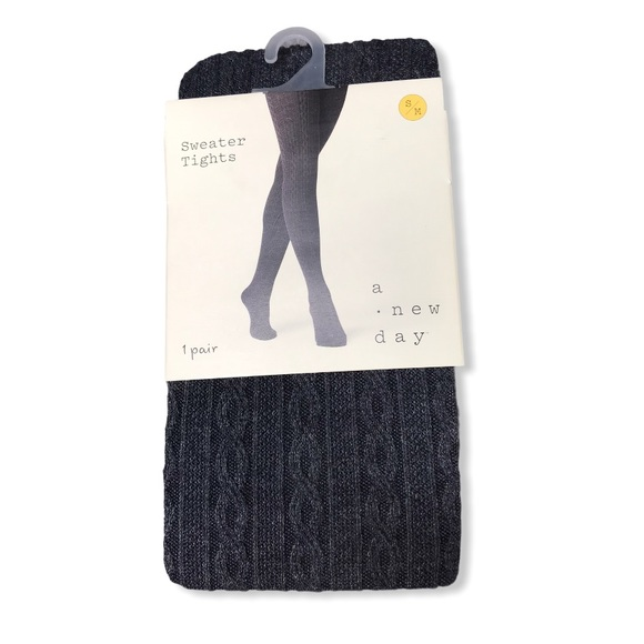 A New Day | NWT Sweater Tights S/M in Charcoal